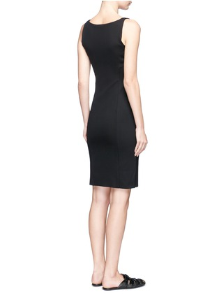 Back View - Click To Enlarge - The Row - 'Odele' bodycon neoprene dress