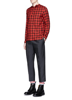 Gucci Cropped wool-mohair jogging pants