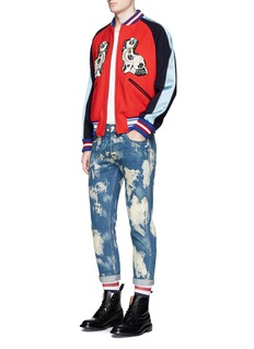 Gucci Punk' slim fit bleached jeans