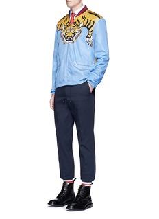 Gucci Tiger print bomber jacket