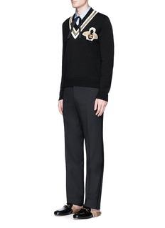 Gucci 'Duke' bee and star jacquard shirt