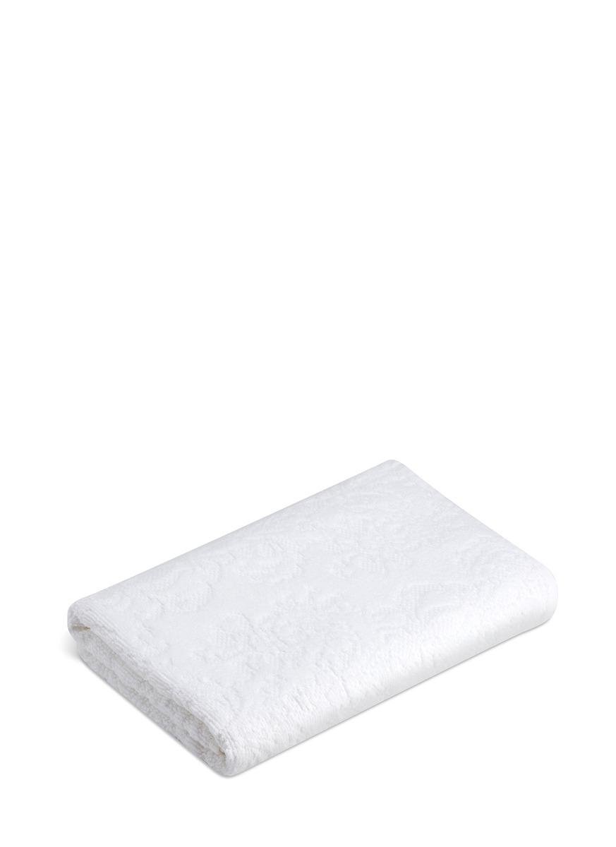Patara bath towel – White by Hamam