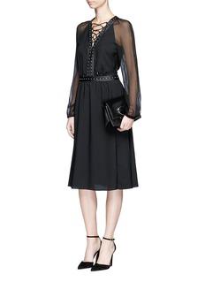 ALTUZARRAMillows铆钉条带连衣裙