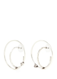 Dannijo 'Axis' Swarovski crystal orbital earrings