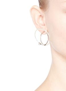 Dannijo'Axis' Swarovski crystal orbital earrings
