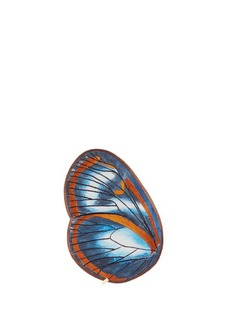 NovelOleria Onega Crispinella' butterfly wing silk pocket square