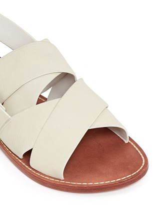 Detail View - Click To Enlarge - 10 Crosby Derek Lam - 'Ally' crisscross leather slingback sandals