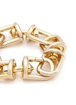 'Fame' 12k gold plated brass link bracelet
