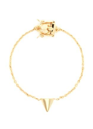 Eddie Borgo-Metal cone charm bracelet