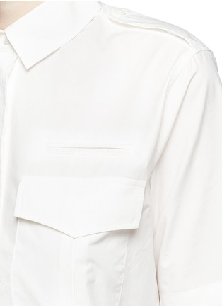 Detail View - Click To Enlarge - Equipment - 'Major' cotton poplin utility dress