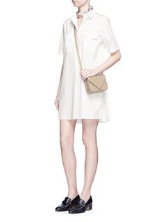 EQUIPMENT'Major' cotton poplin utility dress