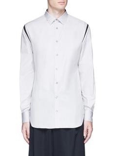 Alexander McQueenShoulder stripe cotton shirt