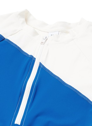 Detail View - Click To Enlarge - Flagpole Swim - 'Elliot' colourblock long sleeve rashguard
