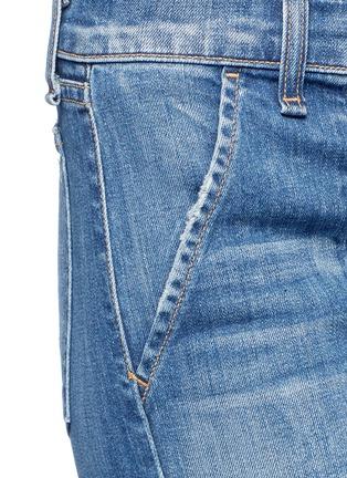 Detail View - Click To Enlarge - rag & bone/JEAN - 'Carpenter Dre' loop leg denim pants