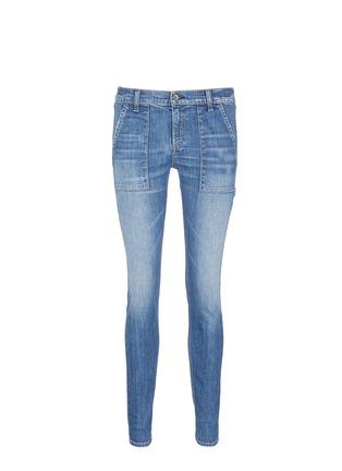 Main View - Click To Enlarge - rag & bone/JEAN - 'Carpenter Dre' loop leg denim pants