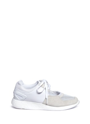 Main View - Click To Enlarge - Adidas - x HYKE 'AOH-007' cutout sneakers