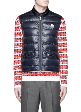 Main View - Click To Enlarge - Moncler - 'Gui' quilted down vest