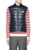'Gui' quilted down vest