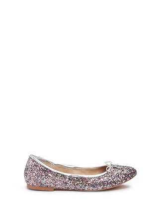 Main View - Click To Enlarge - Sam Edelman - 'Felicia' glitter ballet flats