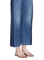 'Gail' beaded T-strap flat sandals
