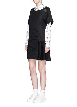 Figure View - Click To Enlarge - KENZO - 'Cartoon Cactus' print cotton poplin shirt