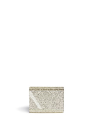 Back View - Click To Enlarge - Jimmy Choo - Candy glitter acrylic chain clutch