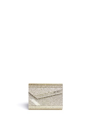 Main View - Click To Enlarge - Jimmy Choo - Candy glitter acrylic chain clutch