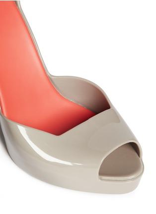 Detail View - Click To Enlarge - Melissa - Floret cutout platform wedges