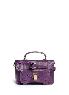 PROENZA SCHOULERPS1 tiny leather satchel