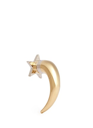 Back View - Click To Enlarge - Givenchy - Shark tooth stud star earring