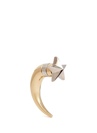 Main View - Click To Enlarge - Givenchy - Shark tooth stud star earring