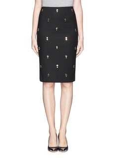 ELIZABETH AND JAMES 'Lima' embellished pencil skirt