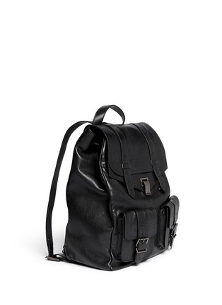 Figure View - Click To Enlarge - Proenza Schouler - 'PS1' leather backpack