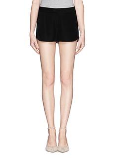 THEORY'Nadrea' tuxedo georgette shorts