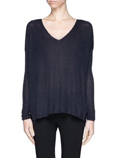 THEORY'Larlissa' V-neck sweater