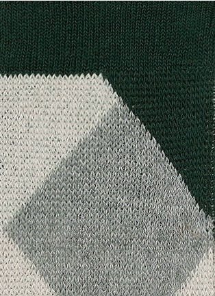 Detail View - Click To Enlarge - HANSEL FROM BASEL - 'Quin' crew socks