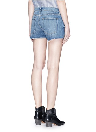 Back View - Click To Enlarge - Frame Denim - 'Le Cutoff Tulip' denim shorts