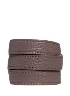 Bynd ArtisanTriple wrap leather bracelet