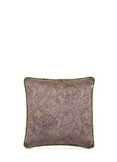 EtroTulum Kabah paisley print large sateen cushion
