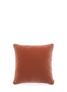 EtroTulum Dos Pilas paisley print large velvet cushion