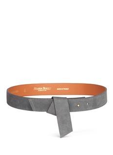 Maison BoinetOrigami fold suede belt