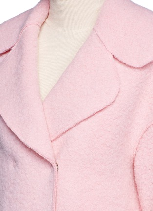Detail View - Click To Enlarge - Chictopia - Brushed virgin wool blend coat