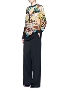 Givenchy Crazy Cleopatra print cotton sweatshirt