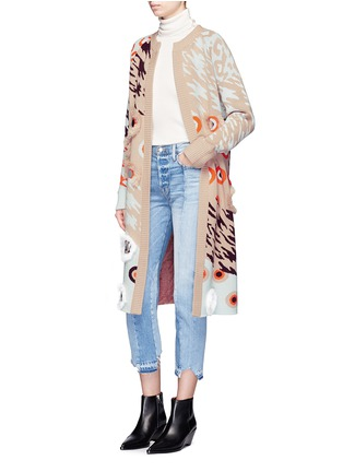 Figure View - Click To Enlarge - Opening Ceremony - x Syd Mead sequins leopard jacquard coat