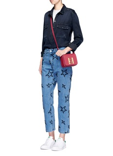 Etre Cecile  Star embroidered slouch jeans