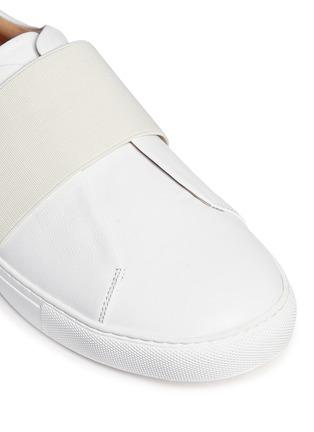 细节 - 点击放大 - BING XU - 松紧搭带皮革平底便鞋