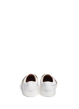 背面 - 点击放大 - BING XU - 松紧搭带皮革平底便鞋