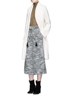 APIECE APART'Baja' tassel tie waist culottes