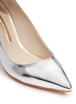 'Coco Flamingo' mirror leather pumps