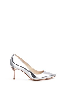 Sophia Webster 'Coco Flamingo' mirror leather pumps